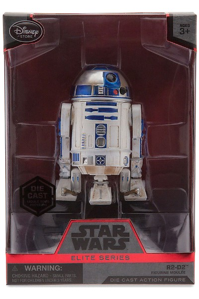 Hasbro Star Wars Elite Series Die Cast R2-D2 Figure